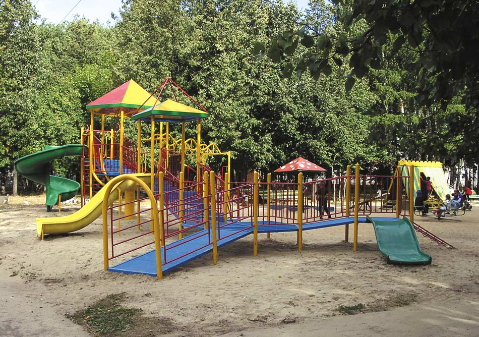 Нормы и правила проектирования игровых детских площадок